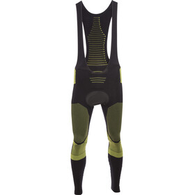 X-Bionic Effektor Power Biking Bib Tights Long Men Black/Yellow